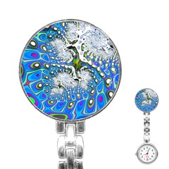 Fractal Fantasy 717b Stainless Steel Nurses Watch by Fractalworld