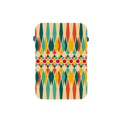 Festive Pattern Apple Ipad Mini Protective Soft Cases by linceazul