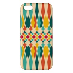 Festive Pattern Iphone 5s/ Se Premium Hardshell Case by linceazul