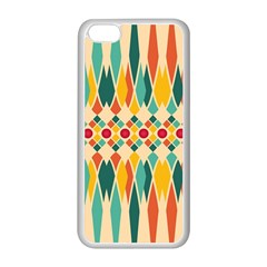 Festive Pattern Apple Iphone 5c Seamless Case (white) by linceazul