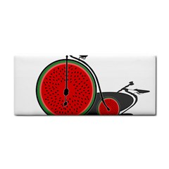 Watermelon Bicycle  Cosmetic Storage Cases by Valentinaart