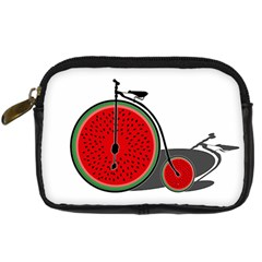 Watermelon Bicycle  Digital Camera Cases