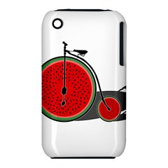 Watermelon Bicycle  Iphone 3s/3gs by Valentinaart