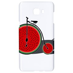 Watermelon Bicycle  Samsung C9 Pro Hardshell Case  by Valentinaart