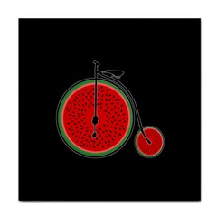 Watermelon Bicycle  Face Towel by Valentinaart