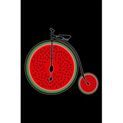 Watermelon Bicycle  5 5  X 8 5  Notebooks by Valentinaart