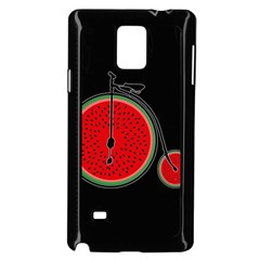 Watermelon Bicycle  Samsung Galaxy Note 4 Case (black) by Valentinaart