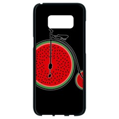 Watermelon Bicycle  Samsung Galaxy S8 Black Seamless Case