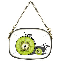 Kiwi Bicycle  Chain Purses (one Side)  by Valentinaart
