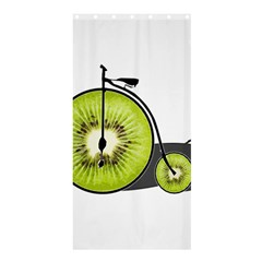 Kiwi Bicycle  Shower Curtain 36  X 72  (stall)