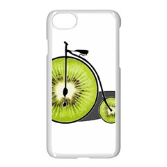 Kiwi Bicycle  Apple Iphone 7 Seamless Case (white) by Valentinaart