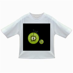 Kiwi Bicycle  Infant/toddler T Shirts by Valentinaart