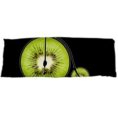 Kiwi Bicycle  Body Pillow Case Dakimakura (two Sides) by Valentinaart