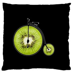 Kiwi Bicycle  Standard Flano Cushion Case (two Sides) by Valentinaart