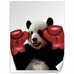 Boxing Panda  Canvas 36  X 48   by Valentinaart