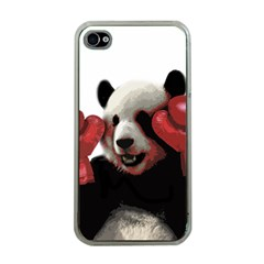 Boxing Panda  Apple Iphone 4 Case (clear)