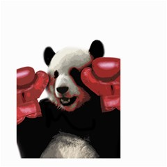 Boxing Panda  Small Garden Flag (two Sides)