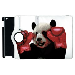 Boxing Panda  Apple Ipad 2 Flip 360 Case