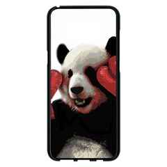 Boxing Panda  Samsung Galaxy S8 Plus Black Seamless Case by Valentinaart