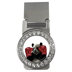 Boxing Panda  Money Clips (cz)
