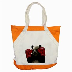 Boxing Panda  Accent Tote Bag