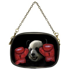 Boxing Panda  Chain Purses (two Sides)  by Valentinaart