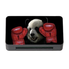 Boxing Panda  Memory Card Reader With Cf by Valentinaart