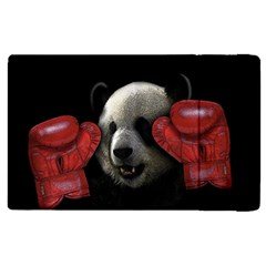 Boxing Panda  Apple Ipad Pro 9 7   Flip Case by Valentinaart
