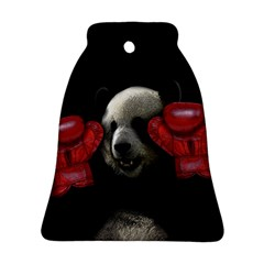 Boxing Panda  Ornament (bell) by Valentinaart