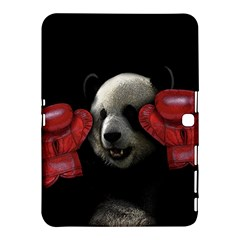 Boxing Panda  Samsung Galaxy Tab 4 (10 1 ) Hardshell Case  by Valentinaart