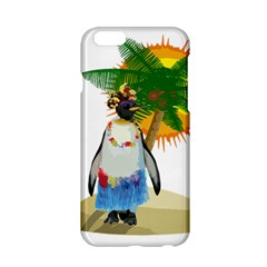 Tropical Penguin Apple Iphone 6/6s Hardshell Case by Valentinaart
