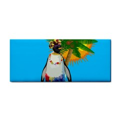 Tropical Penguin Cosmetic Storage Cases by Valentinaart