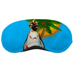 Tropical Penguin Sleeping Masks