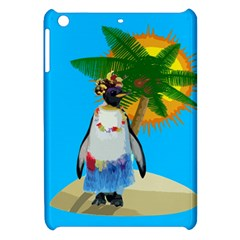 Tropical Penguin Apple Ipad Mini Hardshell Case
