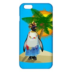 Tropical Penguin Iphone 6 Plus/6s Plus Tpu Case by Valentinaart