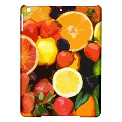 Fruits Pattern Ipad Air Hardshell Cases by Valentinaart