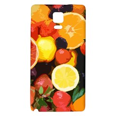 Fruits Pattern Galaxy Note 4 Back Case