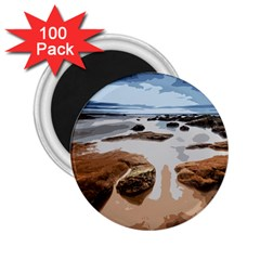 Landscape 2 25  Magnets (100 Pack)  by Valentinaart