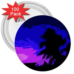 Landscape 3  Buttons (100 Pack)  by Valentinaart