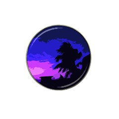 Landscape Hat Clip Ball Marker (4 Pack) by Valentinaart