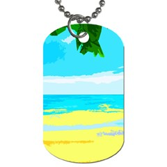 Landscape Dog Tag (one Side) by Valentinaart