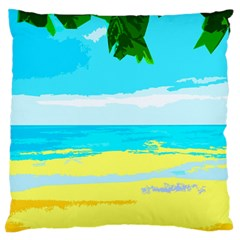 Landscape Standard Flano Cushion Case (two Sides) by Valentinaart