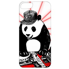 Deejay Panda Apple Iphone 5 Classic Hardshell Case by Valentinaart