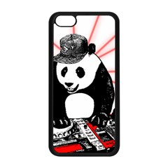 Deejay Panda Apple Iphone 5c Seamless Case (black) by Valentinaart