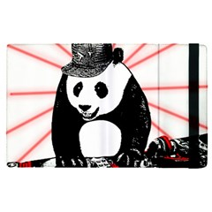 Deejay Panda Apple Ipad Pro 12 9   Flip Case by Valentinaart