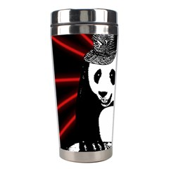 Deejay Panda Stainless Steel Travel Tumblers by Valentinaart