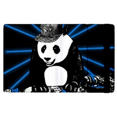 Deejay Panda Apple Ipad 3/4 Flip Case by Valentinaart