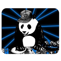 Deejay Panda Double Sided Flano Blanket (medium)  by Valentinaart