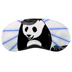Deejay Panda Sleeping Masks by Valentinaart