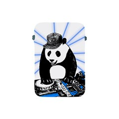Deejay Panda Apple Ipad Mini Protective Soft Cases by Valentinaart